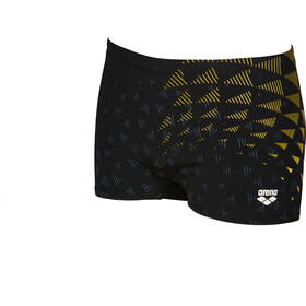 arena One Tunnel Vision Pantalones Cortos Hombre, black/yellow star